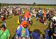 A Zanka in 5.000 e da 40 nazioni per i Vespa World Days 2019 (ANSA)