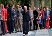 Milan Fashion Week: Spring Summer 2020 Men's collections; Armani (ANSA)