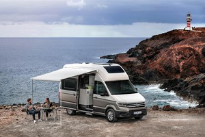 Grand California, la versione large del motorhome secondo VW (ANSA)