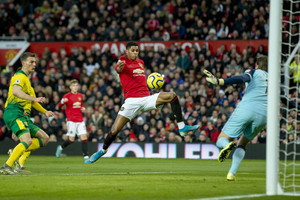 Premier League: Manchester United-Norwich 4-0 (ANSA)