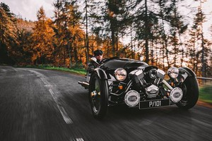 Morgan 3 Wheeler (ANSA)