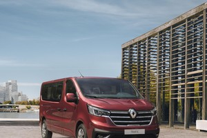 Nuovo Renault Trafic Passenger e SpaceClass (ANSA)
