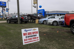 Auto dealer remains open by appointment only (ANSA)
