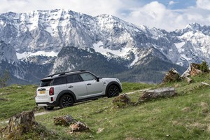 Mini Countryman, si rinnova ed è anche ibrida plug-in (ANSA)