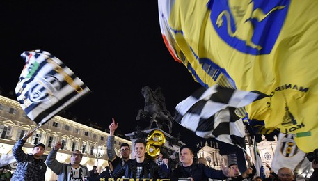 Soccer: Juventus wins the Italian Serie A Championship