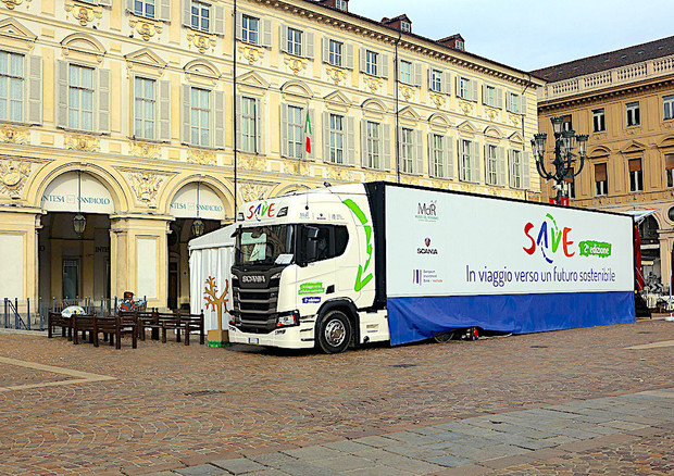 Scania lancia seconda edizione del 'Save Tour' © ANSA