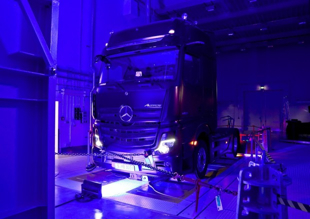 Daimler Truck inaugura nuova centro R&D a Worth in Germania © ANSA