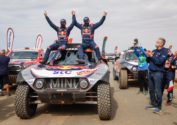 Dakar Rally 2021 stage 12 © EPA