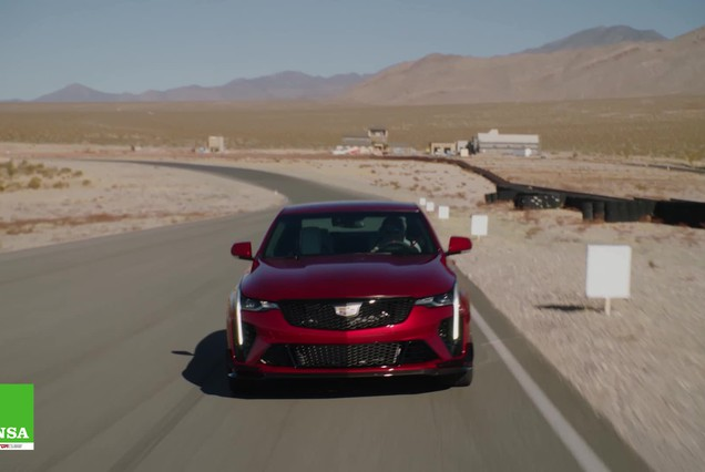 Cadillac CT4-V e CT5-V Blackwing – California Dream (ANSA)