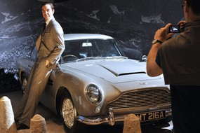 James Bond Celebrates 50 years with Exhbit at Barbican (ANSA)
