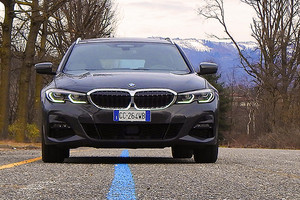 Bmw 330e Touring (ANSA)