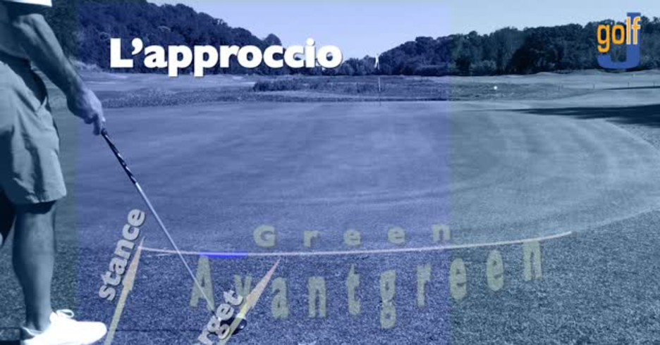 Golf, l'approccio con l'ibrido spiegato in un video tutorial (ANSA)